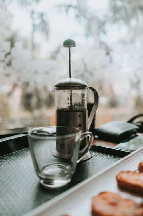 Everything To Make Coffee In The French-Press Coffee Maker